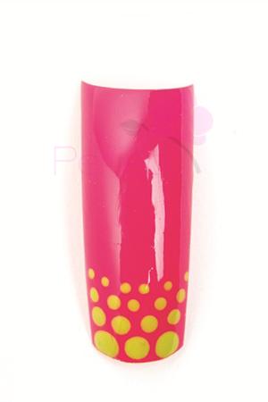 model-simplu-unghii-gel-uv-roz-color-vopsea-acrilica-galbena-buline-p