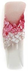Model Acryl unghii de Ocazie - Floare 3D