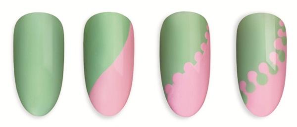 tutorial-unghii-gel-uv-verde-roz