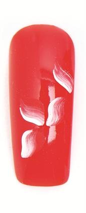 tutorial-unghii-false-gel-uv-gel-unghii-color-rosu-flori-gel-uv-alb-1