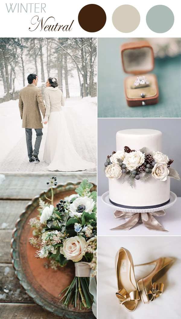 neutral-colors-inspired-winter-wedding-ideas-2016-trends