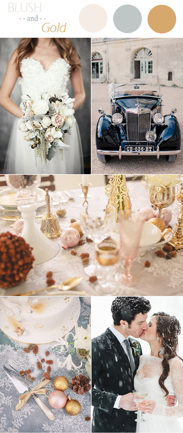 vintage-blush-pink-and-gold-winter-wedding-colors-2016